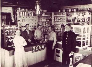Janeda yhistu kauplus raudteejaamas 1936